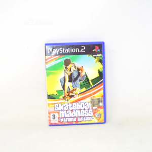 Video Game Play Station 2 Skateboard Madnessxtreme Edition