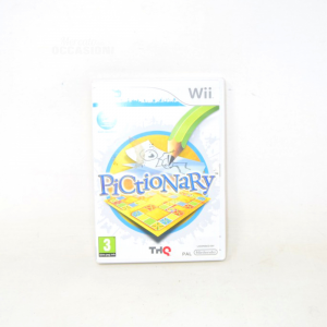Video Game Nintendo Wii Pictionary