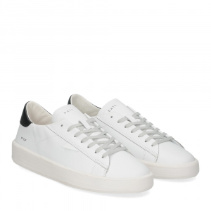 D.A.T.E. Ace calf white black