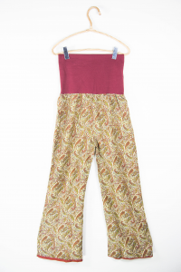 Ethnic long summer trousers. Women's clothing online