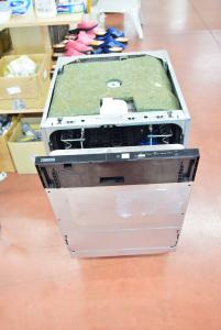 Dishwasher Zanussi New, Built-in,size 45 Cm With 2 Carrelli
