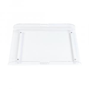 Piano Fasciatoio per lettino in plexiglass con fasciatoio tessile Dino Dili Best