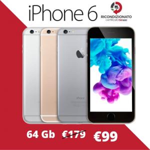 Apple iPhone 6 64gb - (Ricondizionato)