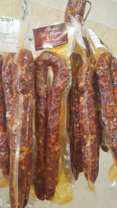Salsiccia stagionata di maialino nero casertano - 600/700 gr circa