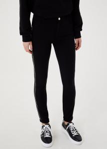 LIU JO TA1218J6182 Pantalone skinny con applicazioni
