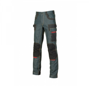 U-POWER - PLATINUM BUTTON - JEANS