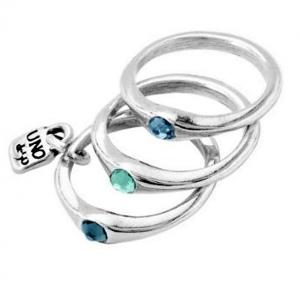 UNOde50 Anello Happy Blue