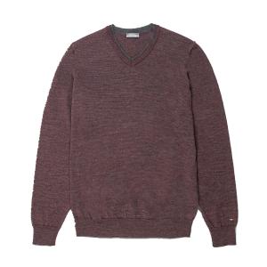 Maglia in lana millerighe