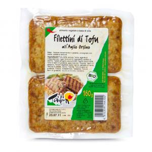 Filettini di tofu all'aglio orsino Taifun