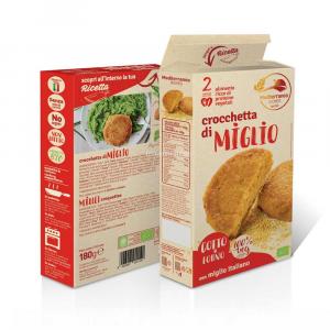 CROCCHETTE MIGLIO 2PZ DA 180g MEDITERRANEA