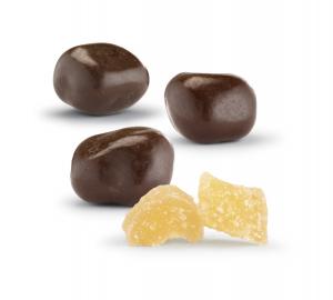 Zenzero e Cioccolato Fondente - Sacchetto 200 g