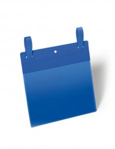 50 buste identificazione con fascette 210x148mm (A5-ORIZ.) Blu DURABLE 1749-07