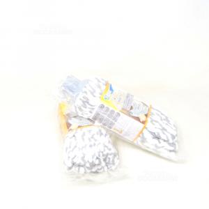 Apex Girello in microfibra per Lavapavimenti, Testa, Cotone/microfibra, Multicol Nuovo