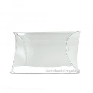 Scatola busta trasparente in PVC di Varie Dimensioni - Contenitori confetti