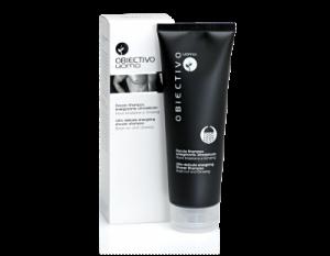 Obiectivo uomo Doccia-shampoo energizzante ultradelicato Noce Brasiliana e Ginseng