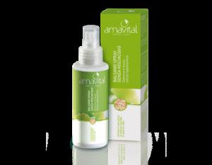 Amavital Capelli lisci - Balsamo spray senza risciacquo