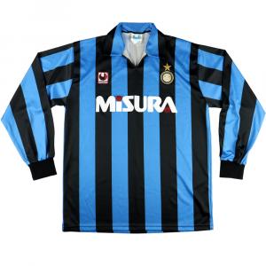 1990-91 Inter Maglia Home L  (Top)