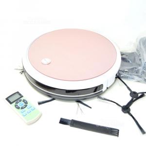 Vacuum Cleaner Robot - Robotic Vacuum Cleanerx430 White Pink New