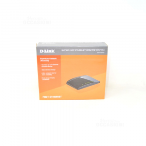 D-Link Switch di rete Unmanaged Fast Ethernet
