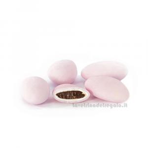 Conf. 5 pz - Confetti rosa al cioccolato William Di Carlo Sulmona - Italy