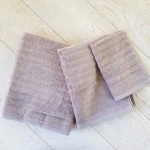 Asciugamani tortora effetto onda