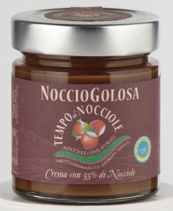 NOCCIOGOLOSA (CREMA SPALMABILE CON 55 % DI NOCCIOLA) 200 gr