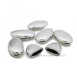 Conf. 5 pz - Confetti argento al cioccolato William Di Carlo Sulmona - Italy