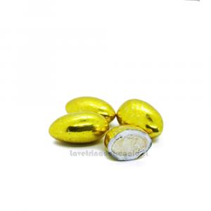 Conf. 5 pz - Confetti oro alla mandorla William Di Carlo Sulmona - Italy