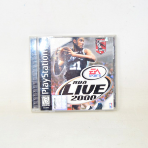 Video Game Play Station 1 Nba Live 2000
