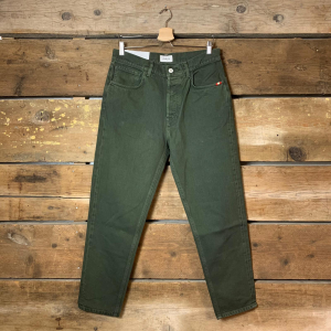 Jeans Amish Supplies Uomo Jeremiah Bull Verde Militare