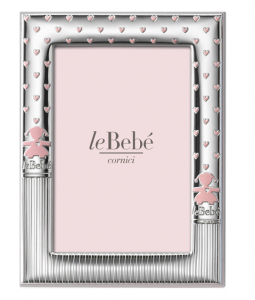 LeBebé Cornice Linea Bubble - Rosa 9x13