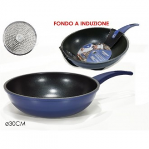Diamond Navy Wok BLU 30CM.