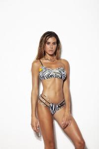 4Giveness Bikini Top Monospalla Luxury Zebra.