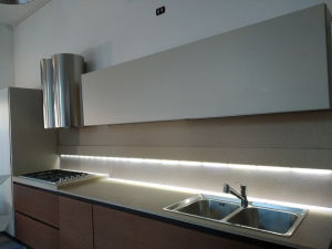Cucina lineare LINE C, Zampieri