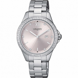 Vagary by Citizen orologio Timeless, quadrante rosa