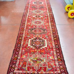 Carpet Lane Persian Prevalenza Red Fantasy Origin Iran Size 98x390cm