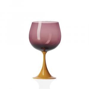 Calice Borgogna Burlesque Girasole-Viola