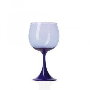 Calice Borgogna Burlesque Blu-Avio Pesco