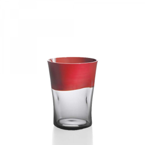 Water Glass Dandy Coral Grey