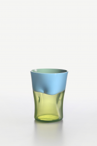 Bicchiere Acqua Dandy Celeste Verde-Acido