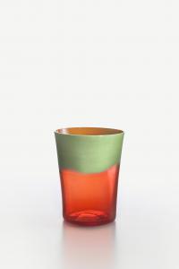 Bicchiere Acqua Dandy Pisello Arancio
