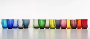 Collezione Bicchiere Idra Rigato