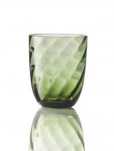 Bicchiere Ottico Torsè Verde Soraya