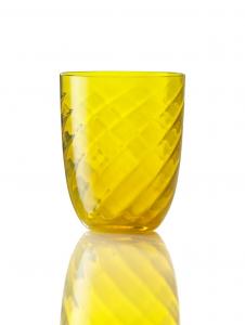 Bicchiere Ottico Torsè Giallo