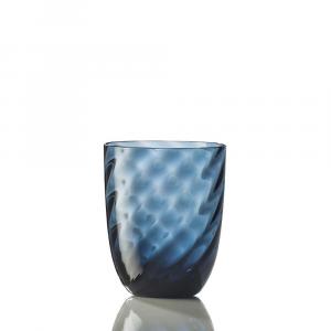 Bicchiere Ottico Torsè Blu Avio