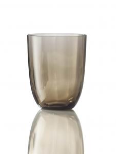 Bicchiere Idra Ottico Marrone