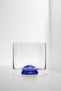Bicchiere Whisky Dot Blu
