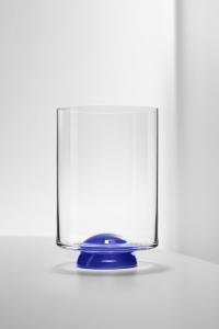 Bicchiere Acqua Dot Blu