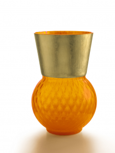 Vaso Medio Basilio Arancio