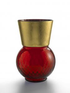 Vaso Grande Basilio Rosso